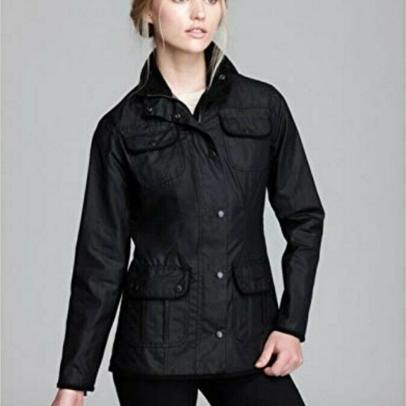 88ebd8394 Classic Barbour Ladies Utility Jacket, Black